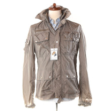 Load image into Gallery viewer, Gaudi Lightweight Nylon Jacket - Taupe