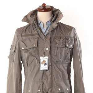 Gaudi Lightweight Nylon Jacket - Taupe
