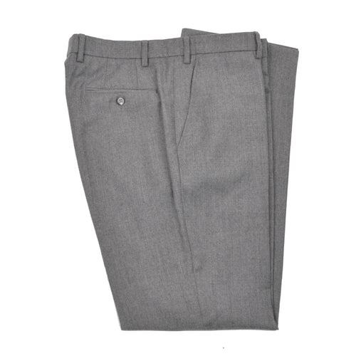 Mabitex Wool Flannel Pants Size 52 - Light Grey