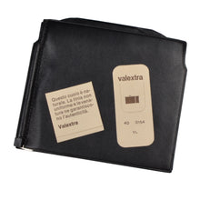 Load image into Gallery viewer, Valextra Milano Grip Spring Wallet - Black