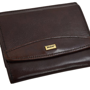 Mano Handmade Leather Wallet - Brown