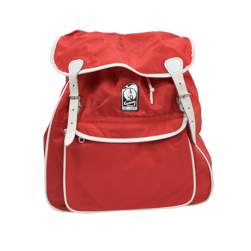 Vintage Kamarg Small Nylon Rucksack - Red