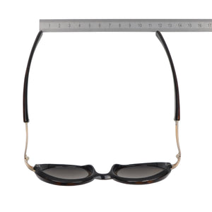 Vintage Karl Lagerfeld Sunglasses - Brown & Gold