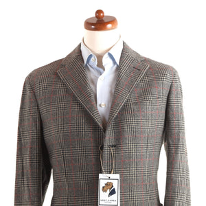 NEW LBM 1911 Cashmere Jacket Size 52 - Plaid