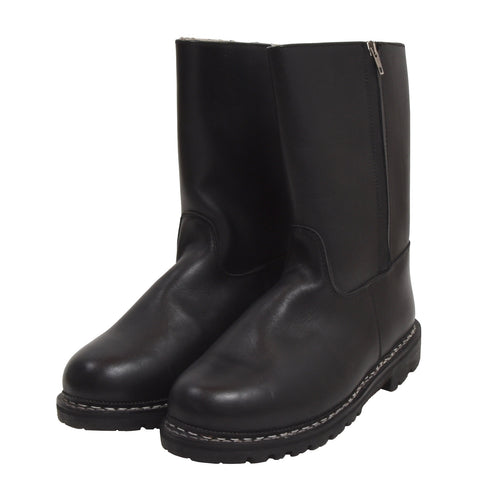 NEW Meindl Shearling-Lined Boots Size 9 - Black
