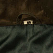 Load image into Gallery viewer, Gallotti Suede Jacket Size 56 - Olive Brown