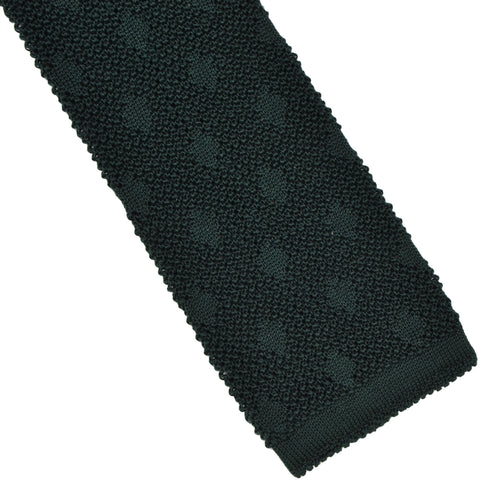 Gino Rossi Knit Silk Tie - Green