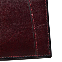 Load image into Gallery viewer, Goldpfeil Leather Breast Wallet/Card Holder - Burgundy