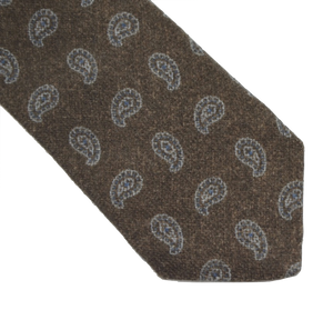 Pure Cashmere Tie by Cornleliani - Paisley