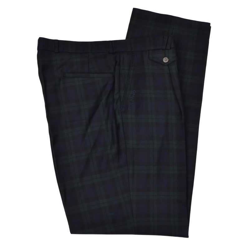 Golfino Wool Pants Size 52 - Blackwatch