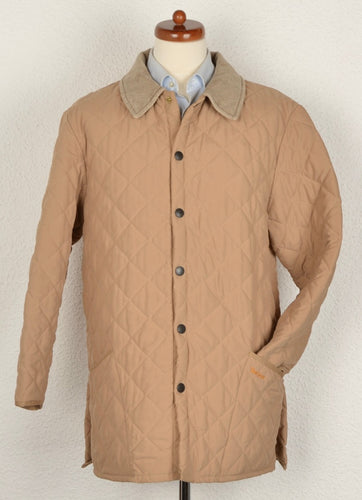Barbour Quilted Eskdale Size L - Tan