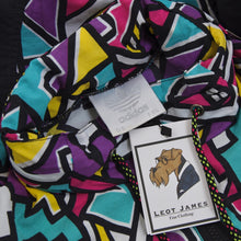 Load image into Gallery viewer, Vintage '90s Adidas Windbreaker Size D5/S - Black/Purple/Teal