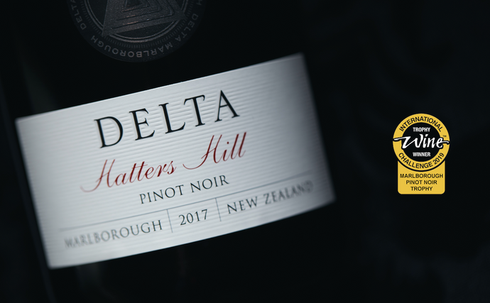 Trophy Win for Delta Wine Company's Pinot Noir