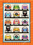 Buggies & Cars Pin Panel