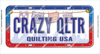 CRAZY QLTR FabricPlate™