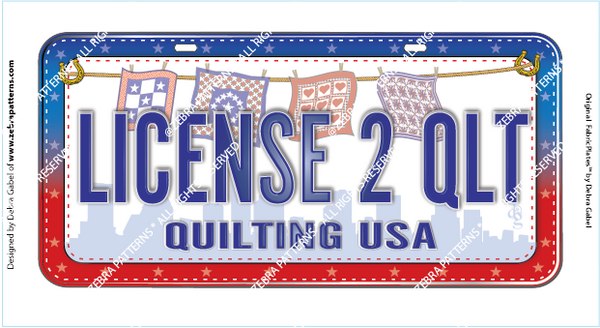 LICENSE 2 QUILT FabricPlate™