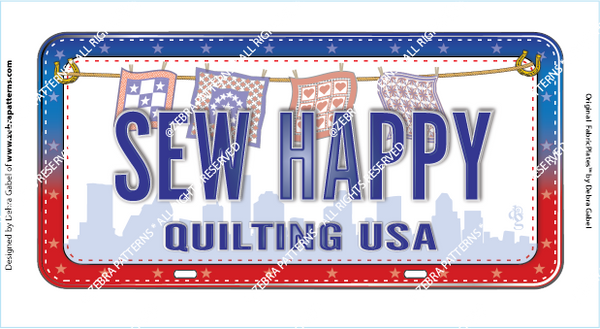 SEW HAPPY FabricPlate™
