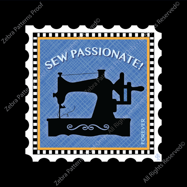 SEW PASSIONATE! CharmStamp™