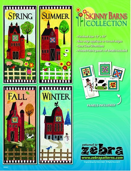 Skinny Barns Applique Collection
