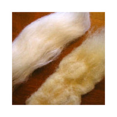 coffee dyed wool roving
