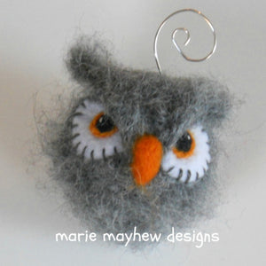 Hand-Knit Bird Ornament