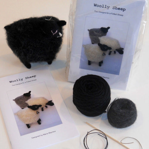 marie mayhew's woolly sheep pattern and kit