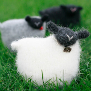 woolly sheep pattern, felted sheep