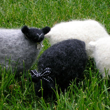Load image into Gallery viewer, black sheep knitting pattern, woolly sheep pattern