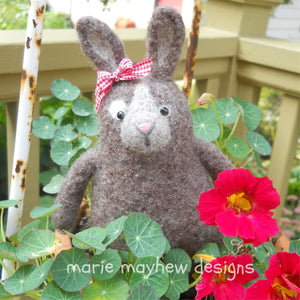 Little Bunny Kisses knitting pattern