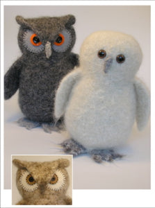 marie mayhew's woolly owls pattern