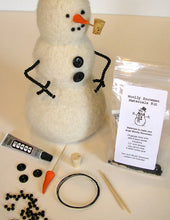 Load image into Gallery viewer, marie mayhew snowman materials kit