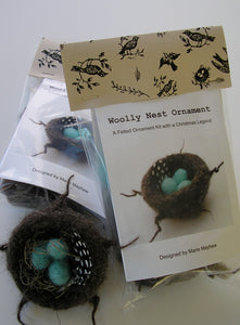 knit nest and eggs kit, empty nest gift ideas