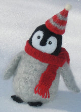 Load image into Gallery viewer, marie mayhew's woolly penguin chick pattern