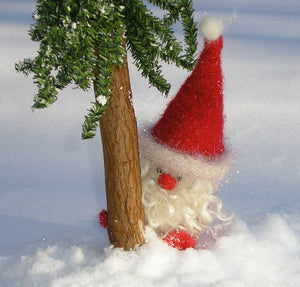 Woolly Santa Gnome pattern