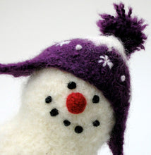 Load image into Gallery viewer, marie mayhew's woolly snowman hats pattern