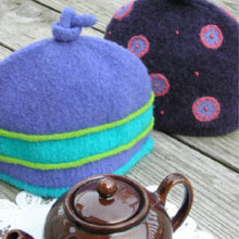 Load image into Gallery viewer, Marie Mayhew's Woolly 2-Cup Tea Cozy pattern