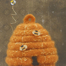Load image into Gallery viewer, Marie Mayhew's Woolly Beehive Skep pattern