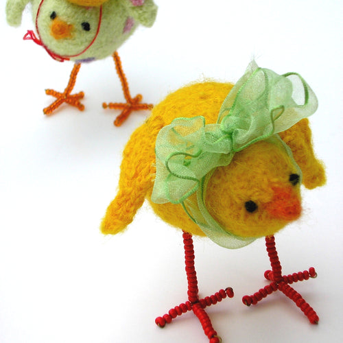marie mayhew's woolly chicks pattern