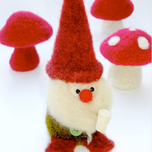 Load image into Gallery viewer, Marie Mayhew's Woolly Gnome & Mushroom pattern