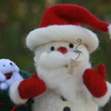 Load image into Gallery viewer, Woolly Santa Snowman pattern in Marie's Whimsical Woollies