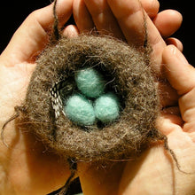 Load image into Gallery viewer, woolly nest and eggs ornament kits