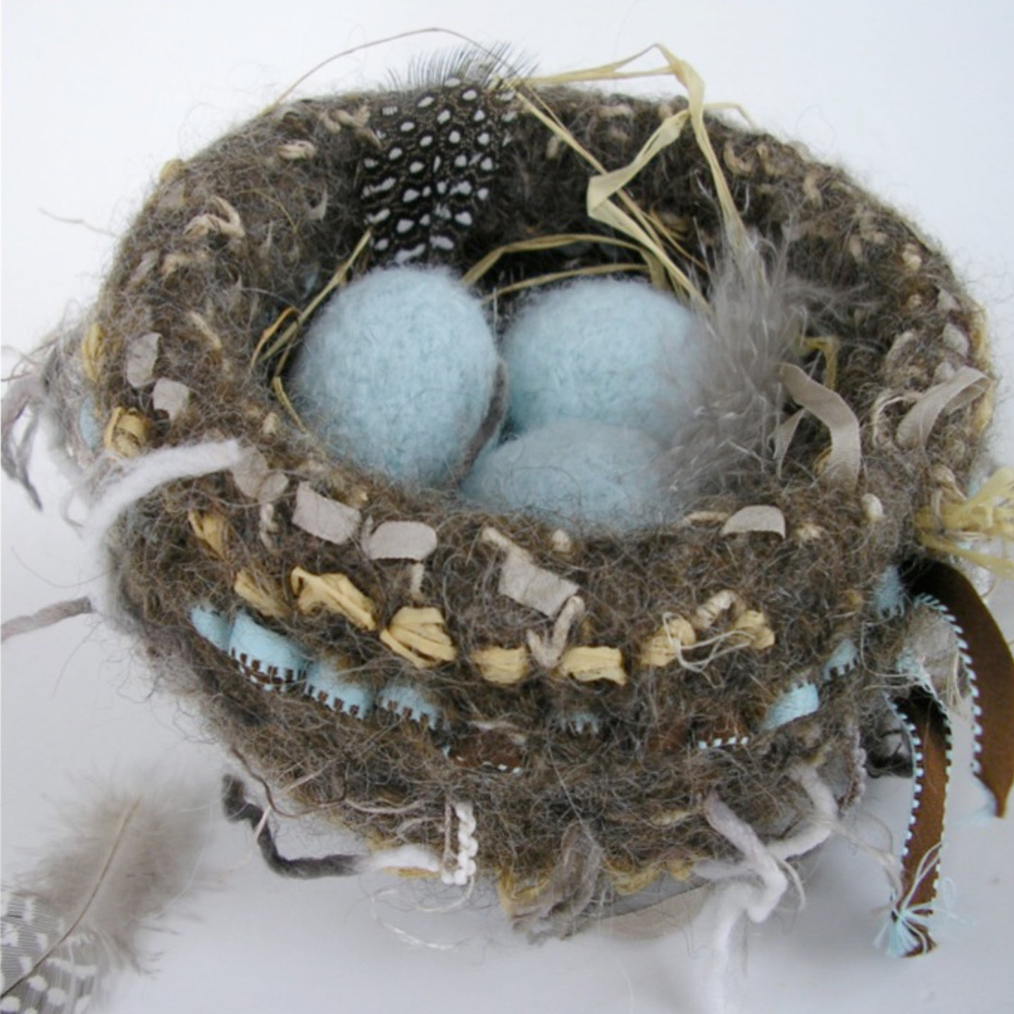 Marie Mayhew's nest & eggs pattern