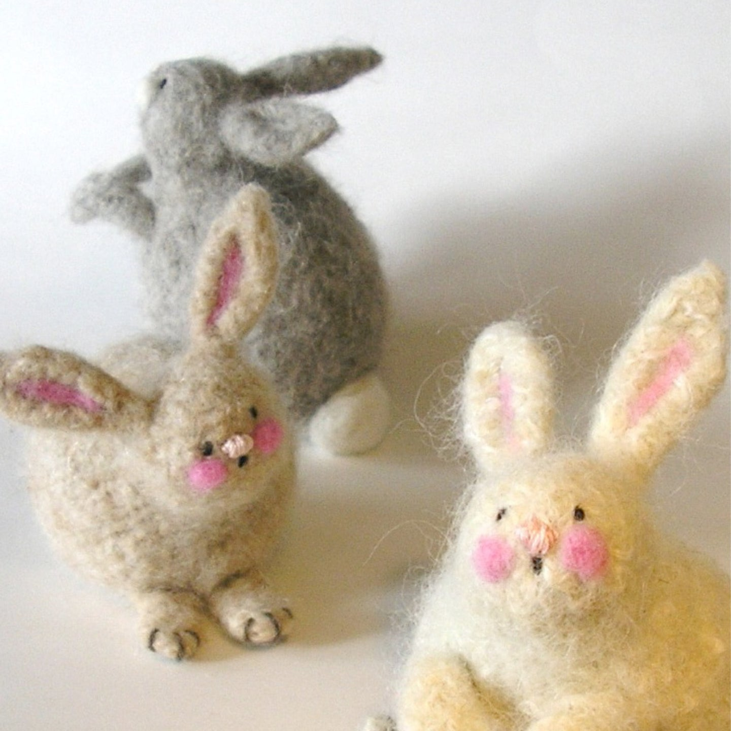 marie mayhew's woolly bunnies pattern