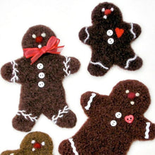 Load image into Gallery viewer, marie mayhew's woolly gingerbread cookie pattern