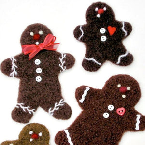 marie mayhew's woolly gingerbread cookie pattern