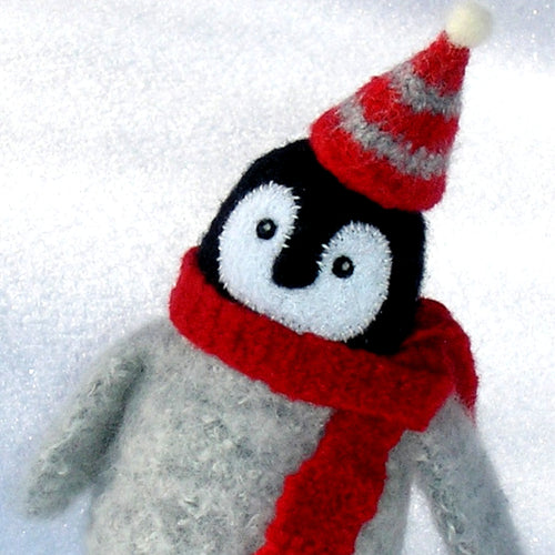 marie mayhew's woolly penguin chick pattern