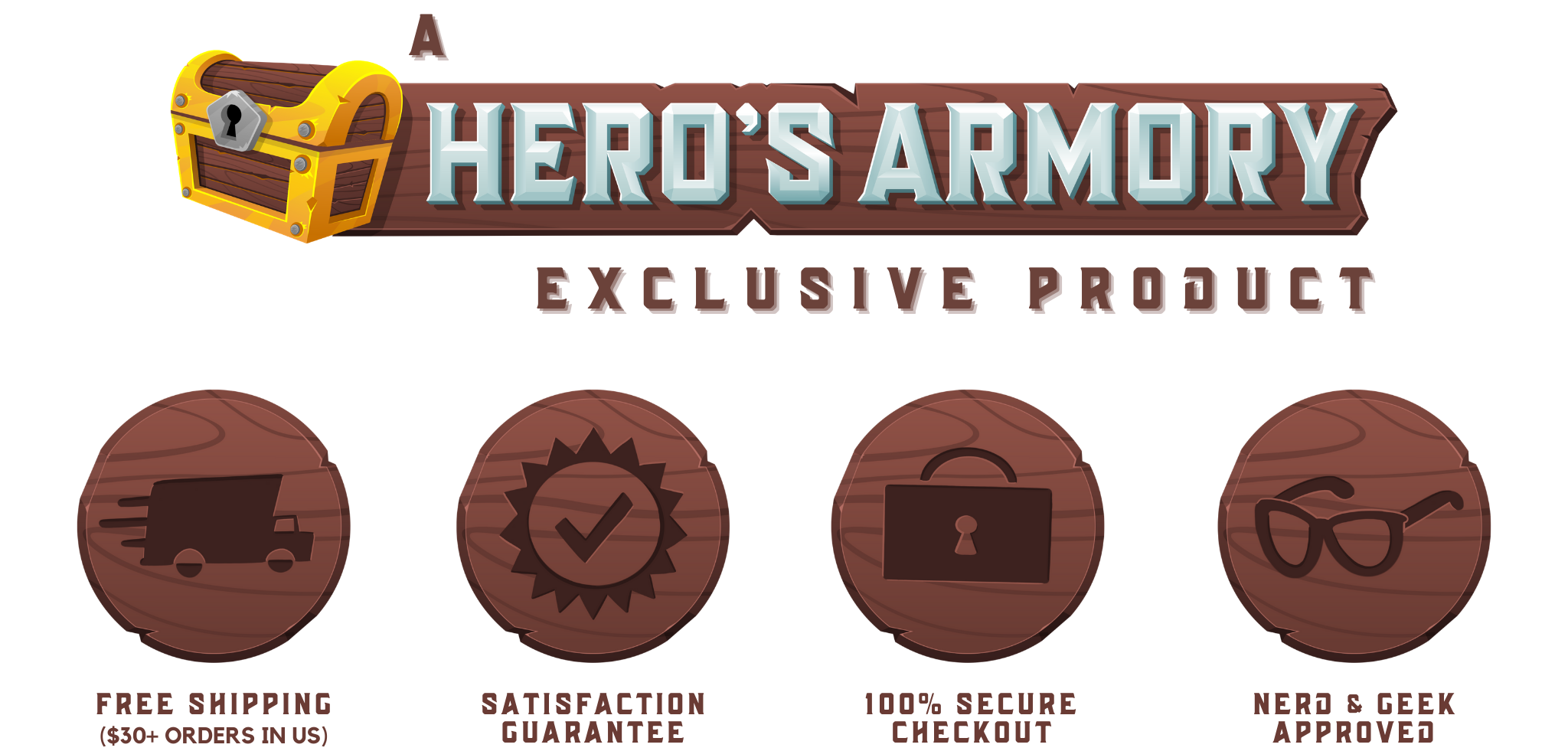 A Hero's Armory Exclusive Product