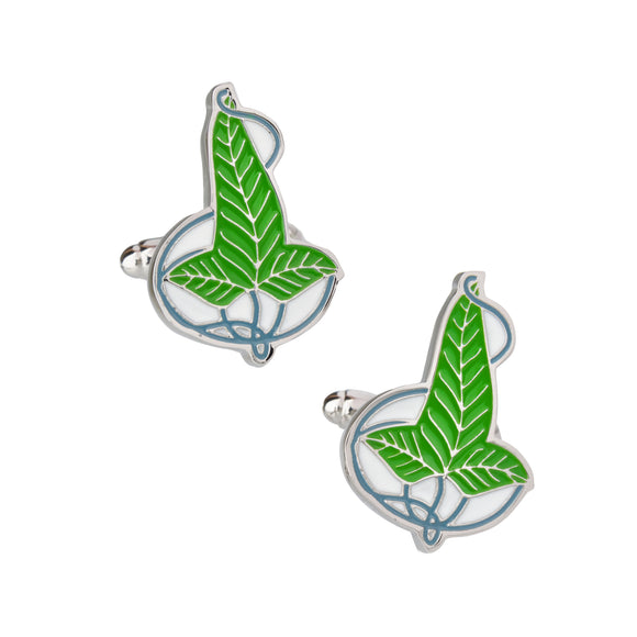 The Elvish Leaf (Cufflinks)