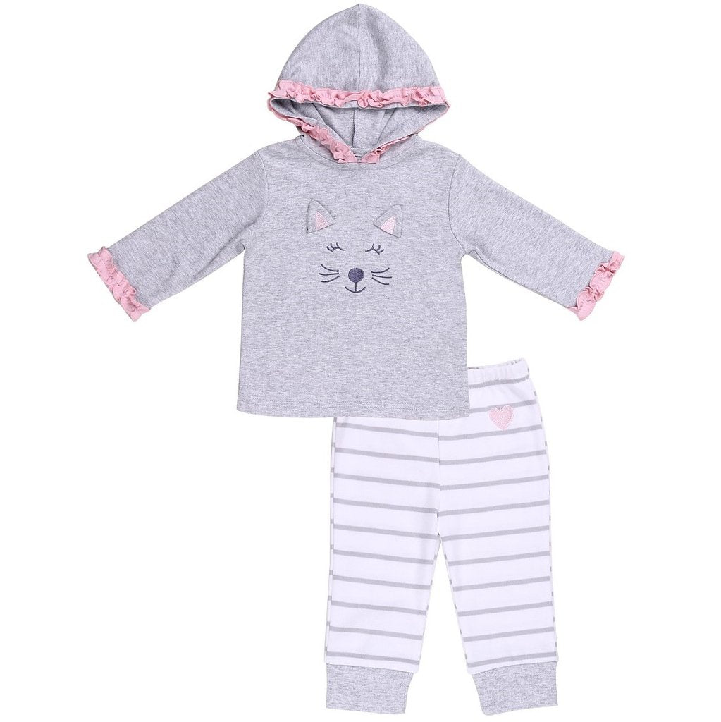 Infant Girls 2-Piece Hoodie Outfit