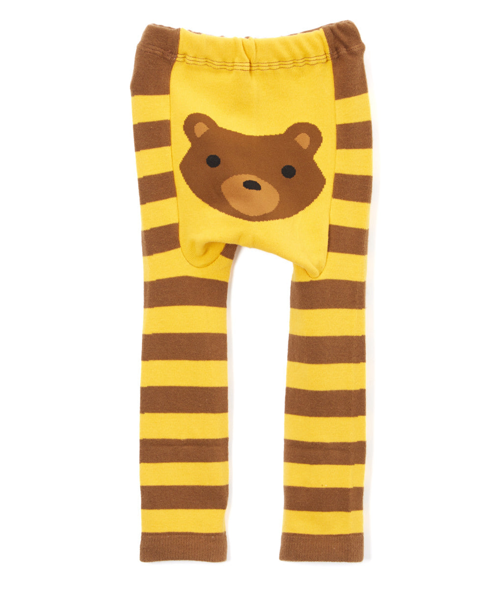 Woodland Bear Cotton Leggings